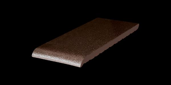 Клинкерная плитка для подоконников Коричневый глазурованный (02) Brown-glazed