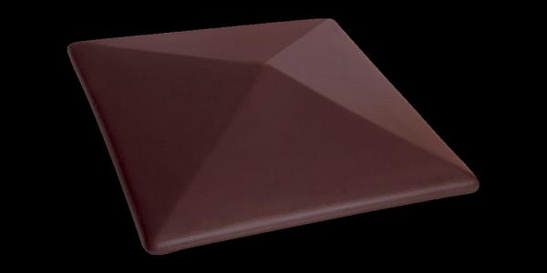 Клинкерный колпак для забора Кармазиновый остров (07) Crimson island
