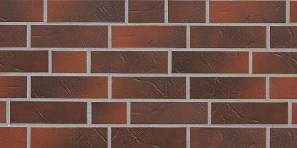 1307 2120102 | Keramik im Klinkerformat | Rotbunt
